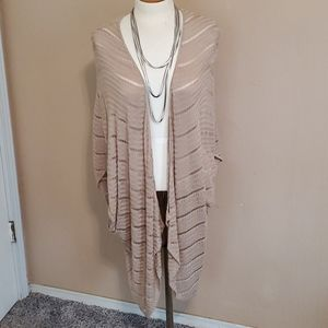 New Directions tan coverlet sweater shrug size XL